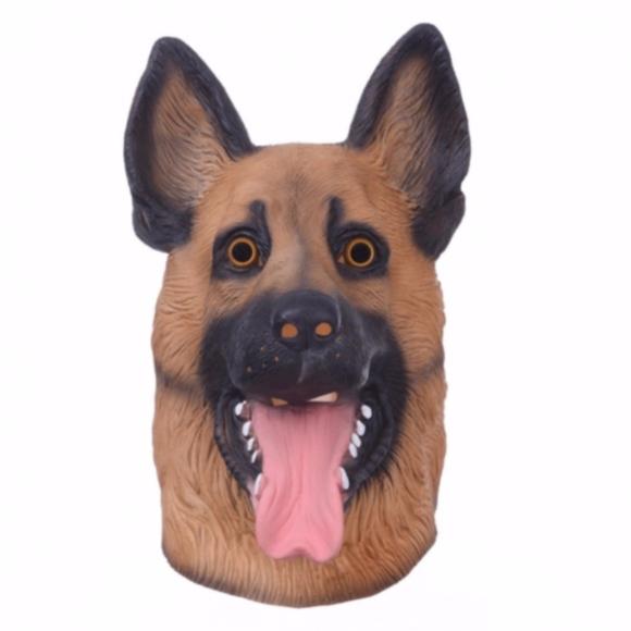 outlet store e44e3 09653 DOG MASK PHILADELPHIA EAGLES GERMAN SHEPARD NFL NWT